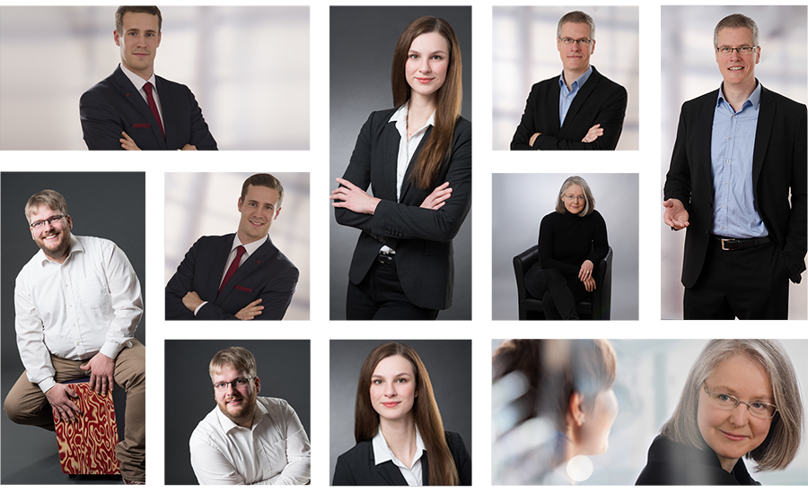 Business Fotografie Collage